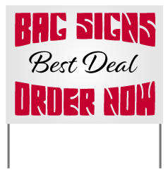 yard signs canada design and order signs online